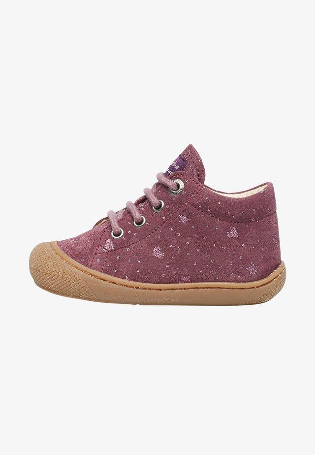 COCOON- AUS VELOURSLEDER-MAGNOLIE - First shoes - violett