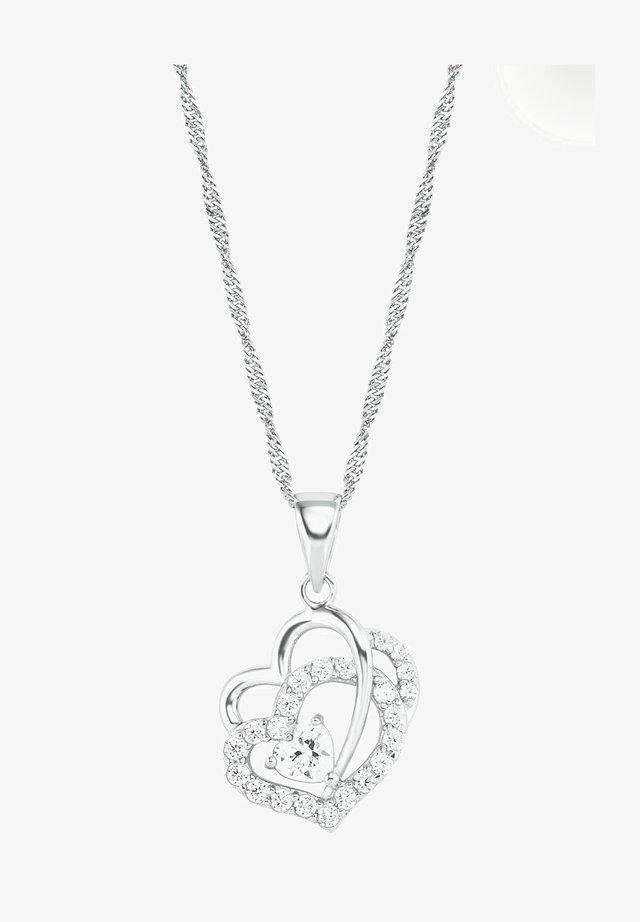 HERZ - Necklace - silber