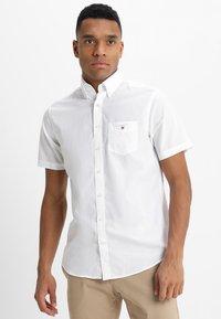 GANT - BROADCLOTH - Camicia - white - 0