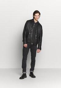 Zadig & Voltaire - DAVID PAINT - Slim fit jeans - noir - 1