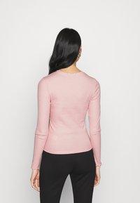 New Look - BABYLOCK TEE - Long sleeved top - light pink - 2