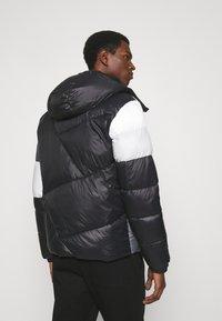 EA7 Emporio Armani - Winter jacket - black/white - 2