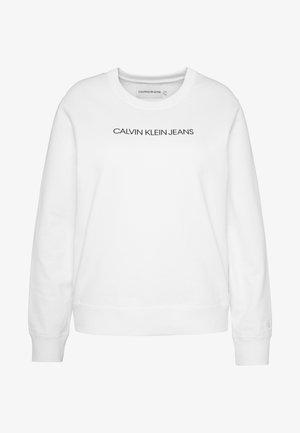 INSTITUTIONALCREW NECK - Sweatshirt - bright white