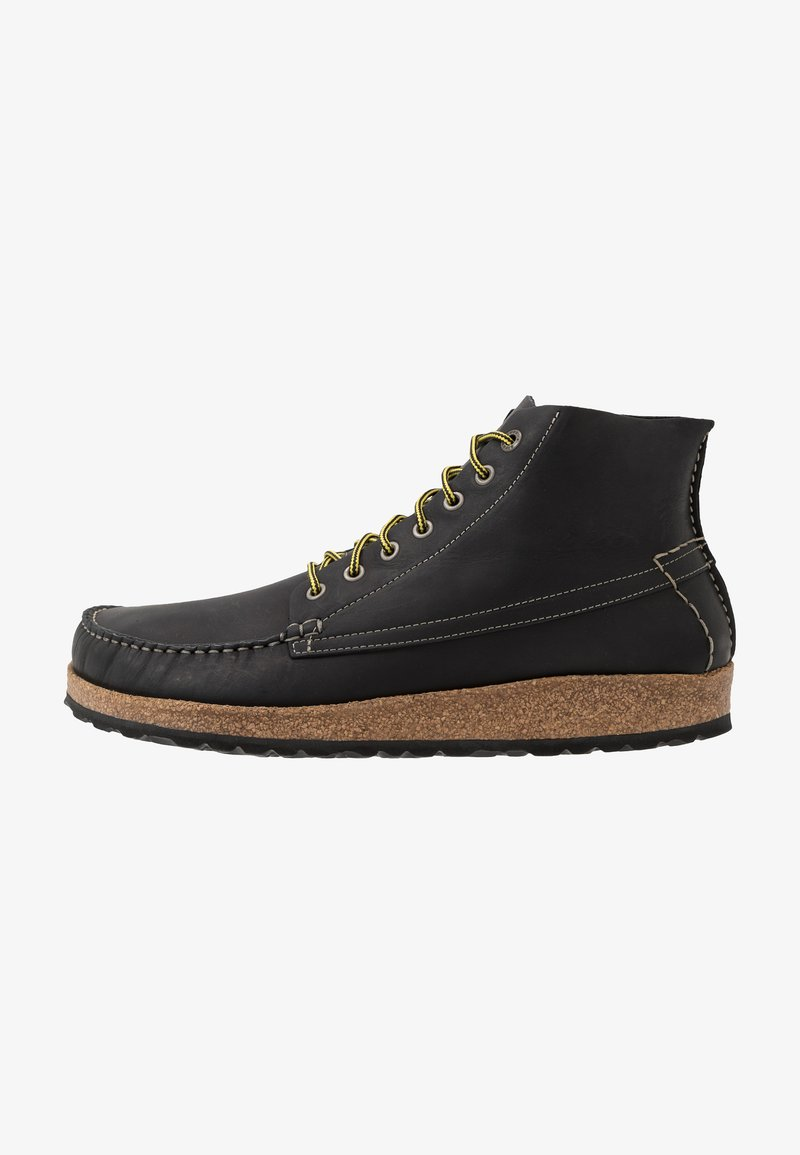 Birkenstock - MARTON - Lace-up ankle boots - black