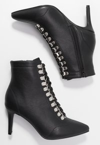 Hot Soles - Lace-up ankle boots - black - 3