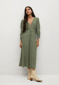 Mango - Day dress - groen - 0