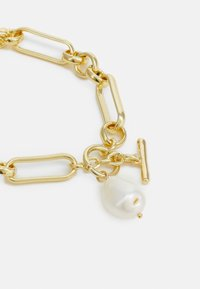 Leslii - Bracelet - gold-coloured/white - 1