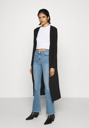 OBJJAMIE LONG CARDIGAN - Kardigan - black