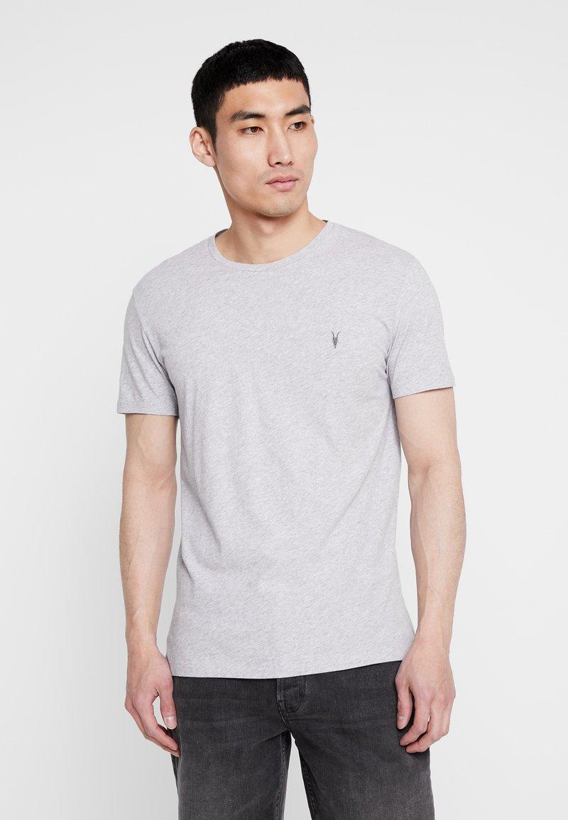 AllSaints - TONIC CREW - Basic T-shirt - grey marl