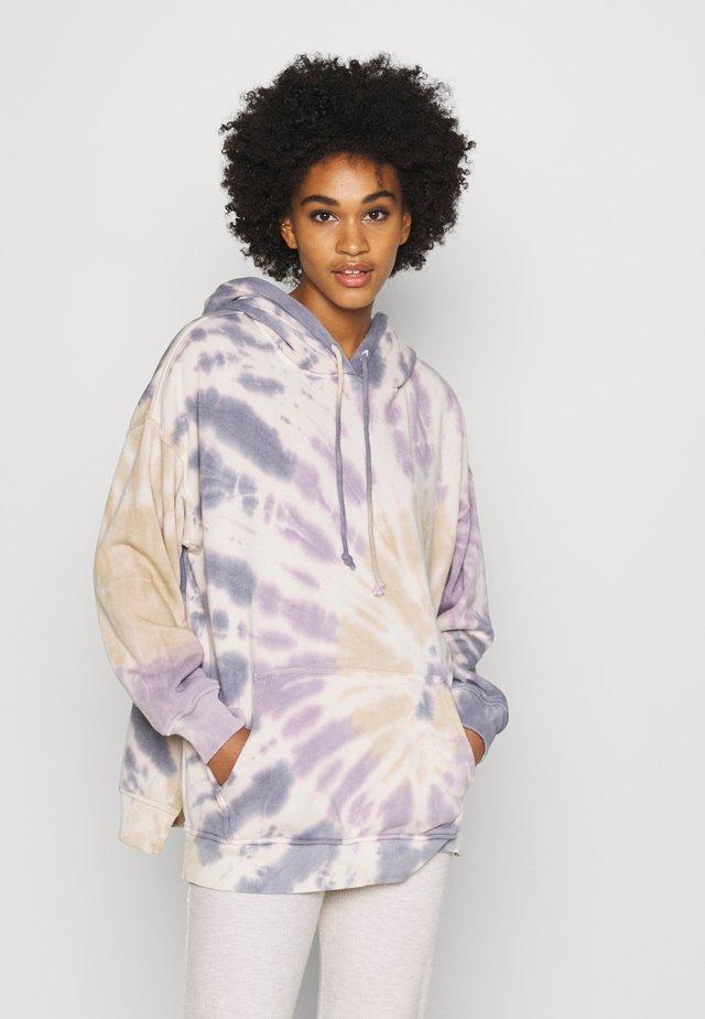 HOODIE WASH - Sweatshirt - purple