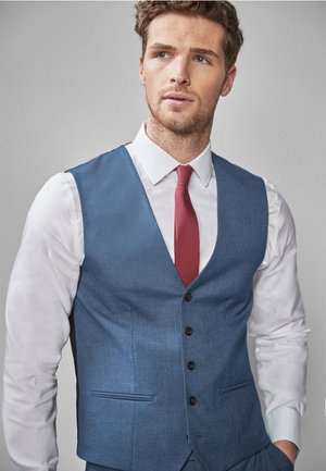 Vesta do obleku - blue