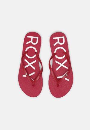 SANDY  - Pool shoes - cerise