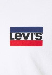 Levi's® Plus - 2 PACK - Print T-shirt - caviar/white - 5