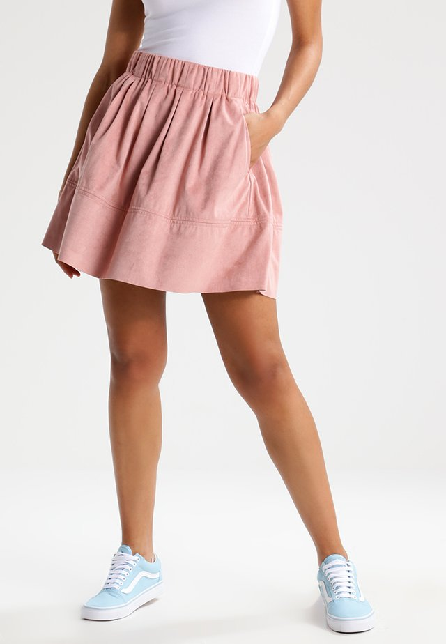 KIA - Áčková sukně - adobe rose