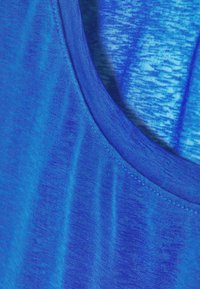 GAP - TISSUE ROLL SLEEVE TANK - T-shirts - admiral blue - 4