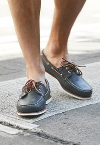 Timberland - CLASSIC - Boat shoes - blue - 3