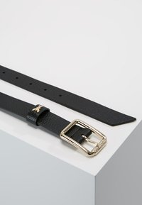 Patrizia Pepe - BASIC BELT - Ceinture - nero/gold - 2