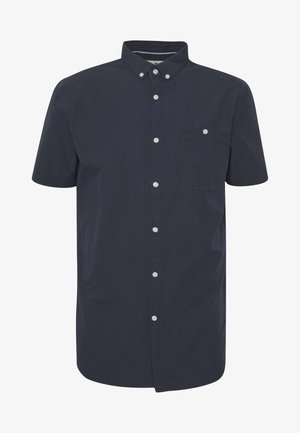 STRUCTURED SHORT SLEEVE SHIRT - Camisa - blue