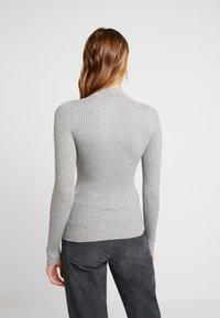 Even&Odd - Stickad tröja - grey - 2