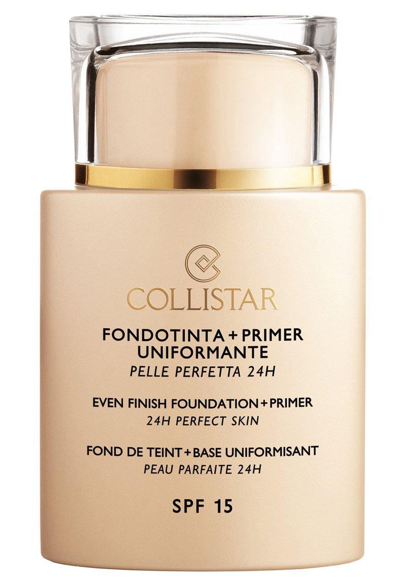 Collistar - EVEN FINISH FOUNDATION+PRIMER - Foundation - n.6 sun