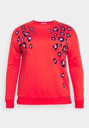 ANIMAL FLOCK - Sweatshirt - pink