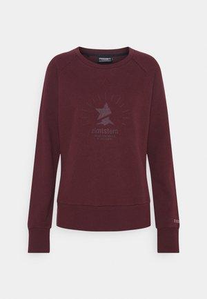 RELAZ - Sweater - windsor wine