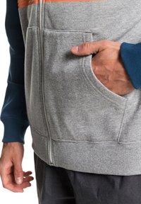 Quiksilver - EVERYDAY - Zip-up hoodie - light grey heather - 5