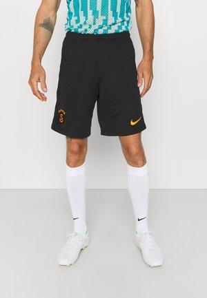 GALATASARAY ISTANBUL STADIUM SHORT HA - Club wear - black/vivid orange