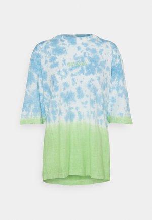 HIGH STATUS - T-shirts med print - blue