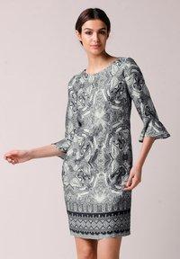 Alba Moda - Day dress - schwarz off white - 5