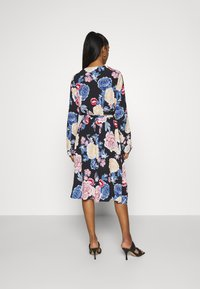 Vila - VIKITTIE DRESS - Day dress - black/blue/rose/beige - 2