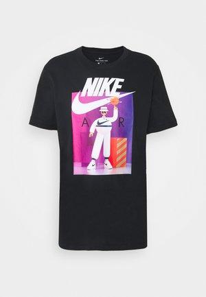 TEE AIRMAN FUTURA - Print T-shirt - black