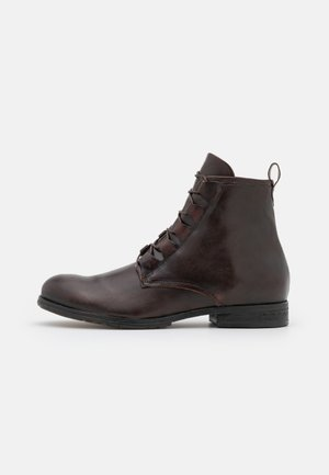 CLASH - Lace-up ankle boots - bruciato