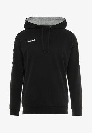 GO HOODIE - Jersey con capucha - black