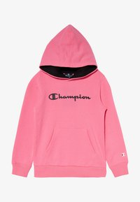 Champion - LEGACY AMERICAN CLASSICS FLUO HOODED - Hoodie - neon pink - 3