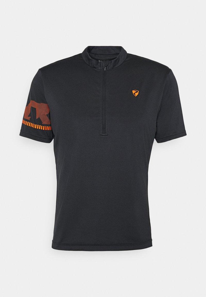 Ziener - NOBUS MAN  - Print T-shirt - black
