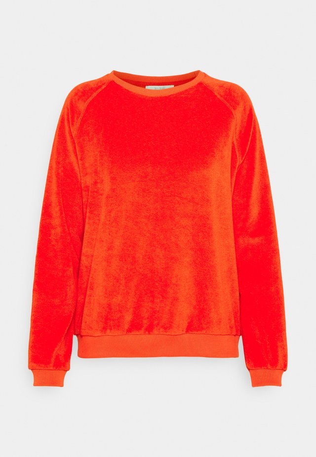 SLUB SWEATER - Felpa - pepper