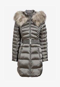Next - Winter coat - silver - 1
