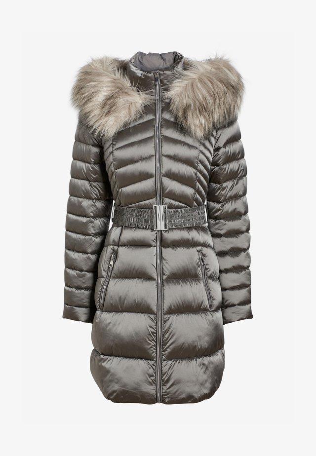 Płaszcz zimowy - silver