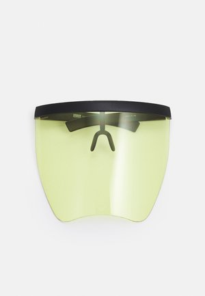 FRONT VISOR UNISEX - Other accessories - black/yellow