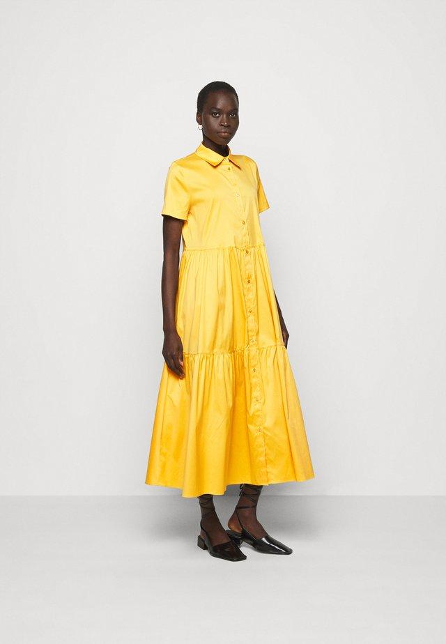 ENNISH - Shirt dress - bright yellow