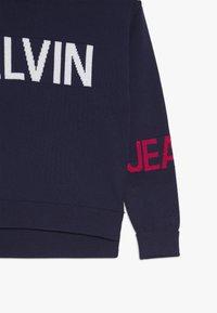Calvin Klein Jeans - STAMP LOGO  - Trui - blue - 3