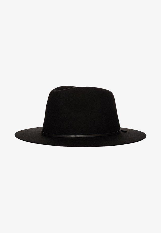 WESLEY - Hat - black