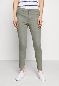 GAP - FAVORITE RINSE - Jeans Skinny Fit - vintage palm - 0