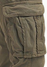 INDICODE JEANS - WILLIAM - Pantaloni cargo - army - 5