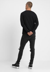 YOURTURN - 2 PACK - Long sleeved top - black - 2