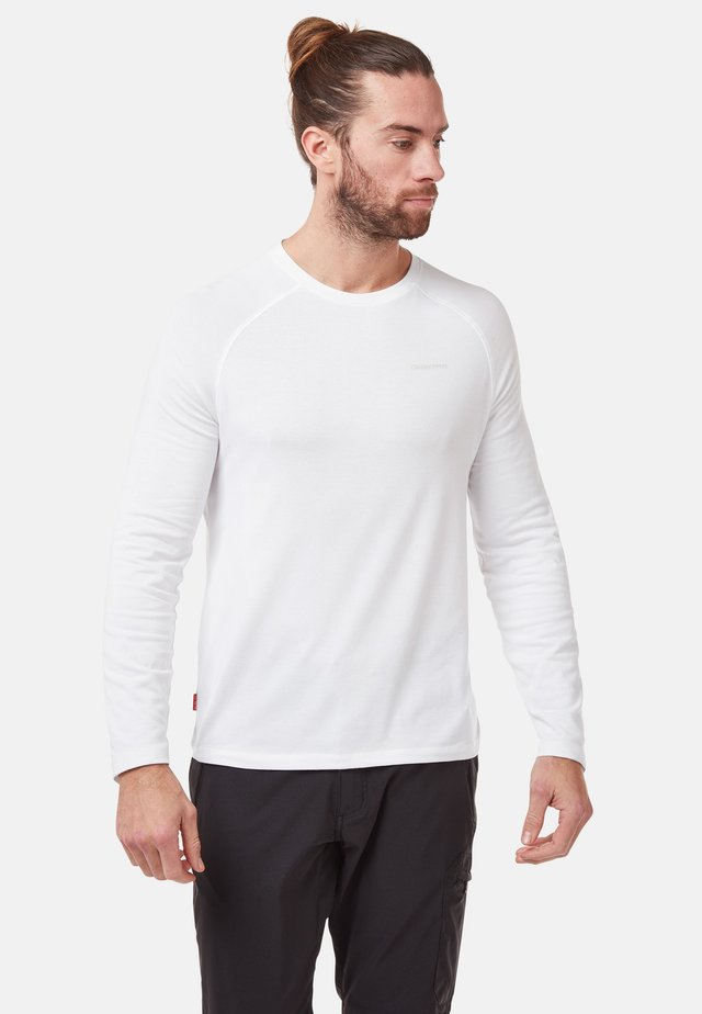 NOSILIFE BAYAME  - Long sleeved top - optic white