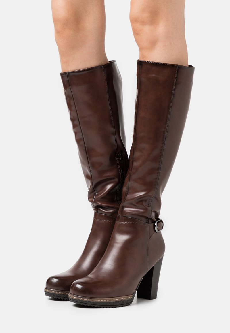 Anna Field - Bottes à plateau - dark brown