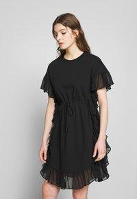 See by Chloé - Žerzejové šaty - black - 0