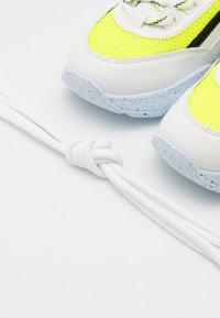 MSGM - Trainers - neon yellow/white - 5